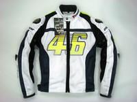 Wholesale White Mesh Jacket - New arrival Rossi 46 racing Wear titanium mesh jacket ,summer jacket TITANIUM MESH JACKET