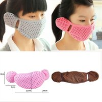 Wholesale-Winter-HOT Fashion Kpop Gesichts Warm Ohrenschütze Mask Anti-Staub-weicher Baumwolle Art ~