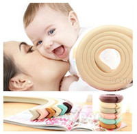 Wholesale Baby Safety Foam - 2M Baby Children Safety Glass table Edge Furniture Guard Strip Horror crash bar Corner foam Bumper Collision Protector Cushion