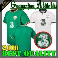 Wholesale ireland soccer jersey - 2018 Ireland Soccer Jerseys Home Away Republic of Ireland National Team Jerseys 2018 World Cup KEANE Daryl Football Shirts