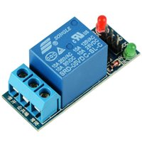 Wholesale Wholesale Arduino - New Hot 1Channel 5V Relay Expansion Board Module low Level Triger for Arduino T1401 W0.5