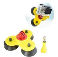 Wholesale Suction Mounted Video - Fixation Ventouse SUCTION CUP MOUNT Pour Gopro Removable Gopro Suction Cup Mount Go Pro Accessories Free shipping
