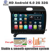Wholesale Dvd Player For Kia Cerato - QZ industrial 2G 16G Android 6.0 Car DVD for KIA Forte Cerato K3 with GPS 3G 4G Wifi Radio Navigation Bluetooth SWC Stereo Free map