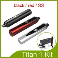 Wholesale Electronic Cigarette Firefly - Vaporizer Titan 1 kit for Wax and Dry Herb vs Titan 2 Firefly Vaporizer pen Vapor Electronic Cigarette Kits DHL free 0211077