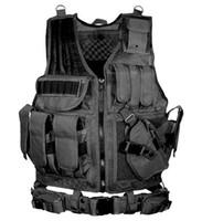 freie taktische weste großhandel-Kostenloser Versand Tactical Vest Armee Kampfuniform Weste 5 Farbe