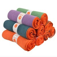 Wholesale Wholesale Slip Towel - non-slip yoga mat towels hot yoga towel mats mat for fitness yoga mat bags pilates yoga blankets high quality