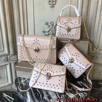 Wholesale Bod Black - The latest hot fashion of 2018 women bag imported genuine calf leather designer lady supper style should bag with stars women cross-bod