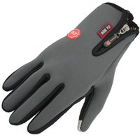 Wholesale Motocross Biking Gloves - Wholesale-Cycling Winter Gloves Full Finger Cycling Motocross Motorcycle Racing Gloves Outdoor Sport Downhill MTB Biking Gloves