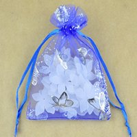 Plastic organza bags suppliers - China Cheap Organza Bags cm Supplier Small Butterfly Pattern Jewelry Packing Drawable Organza Gift Bags Pouches