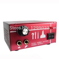 Wholesale Dual Output Tattoo Power Supply - Wholesale-Dual Output Power Supply Power Supply Tattoo Power Supply PS-39 for tattoo machine gun kit high quality free shipping