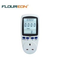 Wholesale Energy Monitor Uk - Power Meter Energy Monitor UK TS-836A Timer Switch Electrical 1 Minute Electronic Power Switch Free Shipping