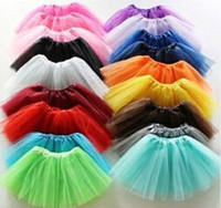 Wholesale Purple Children S Skirts - cheap 2016 Hot sale Baby Tutu Skirt Colorful Candy Color Kids Tutus Skirt Children Free Shipping 10pcs lot
