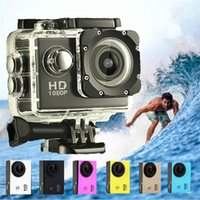 30pcs 1080 P Sj4000 Full HD Azione Digital Sport Camera da 2 pollici Schermo sotto impermeabile 30 M DV Registrazione Mini Sking Bicicletta Foto Video Cam