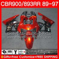 Wholesale fairing cbr893 92 for sale - Group buy CBR RR For HONDA CBR900RR CBR893RR New orange HM19 CBR893 RR Fairing