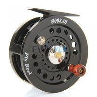 Wholesale 1piece Fly Flies Fishing Reels Reel Freshwater Loop Right Left Handed Black New and Hot Selling