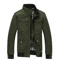 Wholesale Fitness Brands Coats - FG1509 Casaco Moleton 2015 Brand Men's Jacket and Coats Outdoor Slim Fitness Military Jackets Mens Autumn Jaquetas Masculina ZHY1770