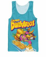 Wholesale Tank Tops Styles For Men - Fashion Clothing Shirt Dunkaroos Tank Top Casual Shirt Summer Style tee hip hop tops for women men plus size