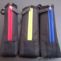 Wholesale Cloth Wholesale Pouch - Carry pouch bag ECig Carring pouch Colorful Cloth Box Case with Hook Zipper Necklace Lanyard Holder for ego evod x6 Mech Mechanical Mod
