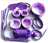 Wholesale Sex Kit Furniture - Tame Me 7pcs Beginner Bondage Set Restraints Kit Erotic Toys Sex Toy for Couple Furniture Sex product