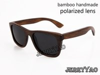 Wholesale High End Bamboo - high-end bamboo sunglasses 2015fashion wooden bamboo sunglasses popular new design bamboo frame sunglasses Polarized sunglasses UV400 Protec