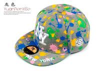Wholesale Ny Cap Color - 5 COLOR Hip Hop Snapback Baseball Caps Unisex Sports Adjustable Bone NY Women Hats New York Men gorras Caps Casual headware casquette