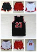 Wholesale Mixed Basketball Jersey - 23 basketball Jersey, Basketball shorts REV 30 Free fast Shipping Size S - XXL Allow Mix Order