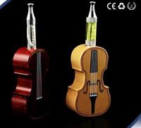 Wholesale Ego Sole - Latest Hot Special Health VIO Violin Electronic Cigarette Kits  Sole Production wood EGO SET Pear Flower EGO Set 10 Sets moer Wholesale