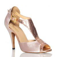 Wholesale Tango Salsa Shoes - new brand Fashion Gray Satin Elegant Women's Latin dance shoes Ballroom dancing shoes Salsa Samba Tango Square dance shoes High heel 8.5cm