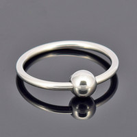Wholesale Beads Sex - Male Penis Delay Ring Stainless Steel Beads Cock Ring Adult Sex Toys for Couples Glans Jewelry Cockrings 30 35 40mm G7-1-30