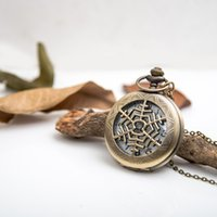 Wholesale Snowflakes Pocket Watch - 2016 hot!!!!Snowflake pocket watch necklace,antique jewelry, Sweater Necklace!Best Christmas gift  free shipping !