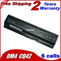 Wholesale Hp Pavilion G72 - Super- 5200MaH Battery For HP Pavilion DM4 DV3 DV5 DV6 DV7 G32 G42 G62 G56 G72 For COMPAQ Presario CQ32 CQ42 CQ56 CQ62 CQ630 CQ72 MU06