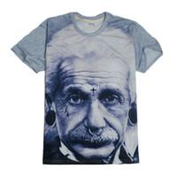 Wholesale Smart T V - 2015 vestidos blusas lovers tshirt smart Einstein t shirt men women 3d brand camisetas t shirt women underwear women tops cueca