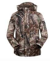 Wholesale G8 Windbreaker Jacket - Free Knight Outdoor Camouflage Jackets (Casaco) Men Military G8 Windbreaker Fleece Hunting Jungle Coats Size:M L XL XXL XXXL