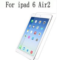 Wholesale Packaging For Ipad Skins - Clear Screen Protector Film Guard Skin Case Cover for iPad Air 2 iPad Air ipad 6   ipad mini 3 retina With Retail Package