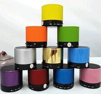 Wholesale Iphone Speaker Home Theatre - S10 Bluetooth Speakers Mini S10 Speaker Wireless Portable Speakers HI-FI Music Player Home Audio for iphone 5 iphone 4 dhl