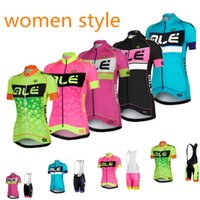 Wholesale Woman Cycling Jersey Blue - Wholesale-Ropa Ciclismo 2015 ale Cycling Jersey bike sportswear cycling tight women style shorts set mtb maillot ciclismo MTB bike wear