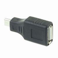 Wholesale usb b converter resale online - New Arrivals Female to Micro USB B Pin Male Adapter Converter F M Popularl USB