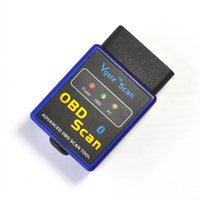 Wholesale Elm327 Elm 327 Bluetooth - ELM327 Vgate Scan OBD2 Bluetooth Scan Tool elm 327 interface obd bluetooth adapter