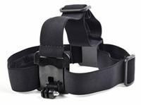 ceinture de héroïne achat en gros de-Gopro Accessoires Élastique Réglable Nylon Head Strap Ceinture Adaptateur de montage de bande de tête pour caméra HD Hero 1 2 3 3+ sj4000