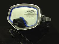 ingrosso maschera di silicone donna nera-Super qualità Full Face silicone liquido pesca subacquea nero wen / donne equipaggiamento per lo snorkeling maschera per immersioni subacquee M246
