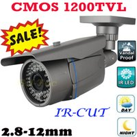 Wholesale Wide Angle Security System - 1200TV Lines High Resolution Video Monitor Thermal Camera Wide Angle Security Surveillance Bullet Waterproof Indoor Outdoor System Install