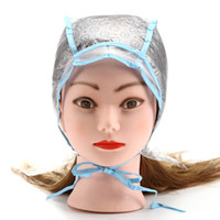 Dye Cap + Gancio Reusable Set Salone dei capelli professionali Color Coloring Evidenziando Frosting Tipping Color Hairstyling Tools