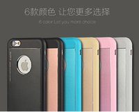 Wholesale Elago Cases - New Arrival! Korea Elago Cell phone Case For iPhone4 4S 5 5S 6G 6G plus Metal+TPU Soft All Cover Support Mix Color