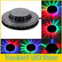 Edison2011 90-240V Micro RGB RGB Light 48 LEDs Control de voz Sunflower LED Stage Light para Disco Stage Home Party