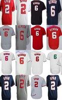 Wholesale Span Men - Cheap Men Women Kid Washington 6 Anthony Rendon 2 Denard Span White Red 10th Anniversary Patch Thrownback Cheap Baseball Jerseys