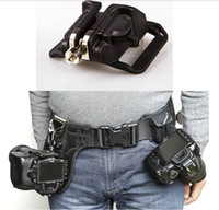 """Wholesale Kindle Holster - Camera Accessories Waist Spider Holster With 1 4"""" Screw Mount Waist Holster Shoot Belt Belt Buckle Button Free Shipping"""