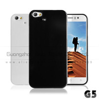 Wholesale Wholesale Jiayu G5 - Wholesale-1pcs lot Black and white TPU Case Cover for jiayu g5 G5S phone MTK6592 with free screen protetcor