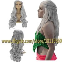 Wholesale Dragon Wig - Cosplay Wig Inspired by Daenerys Targaryen Dragon Princess Game of Thrones Braids Costume Wigs