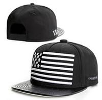 Wholesale Red Flags Men - 2015 BLUNTED GO HARD Gorra CAYLER & SONS american flag USA snapbacks adjustable hat hiphop baseball CAP hats,F**kin Sports BALL Caps Hat