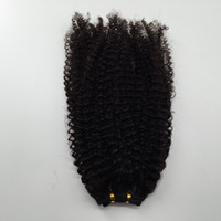 Wholesale russian hair extension wefts for sale - Group buy Cheap Peruvian Brazilian Hair Wefts Afro Kinky Curly Hair Weaves Human Hair Extension Bundles Fast